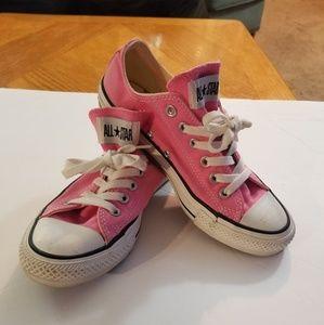 Converse Hot Pink Chuck Taylors